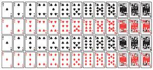 standard deck solved a deck of cards a standard deck of cards contains
