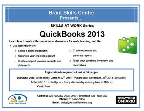 quickbooks accounting tutorial pdf free computer classes 171 brant skills centre
