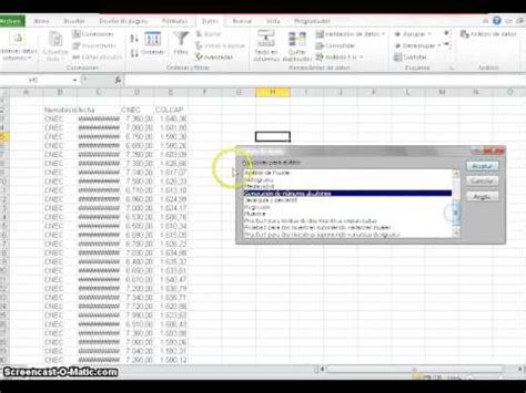tutorial excel regresion lineal tutorial modelo de regresion lineal en excel youtube