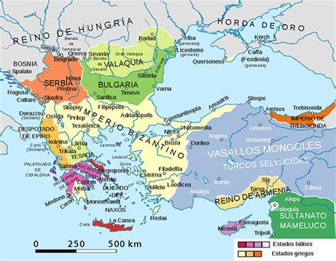 imperio otomano bizantino la cat 225 strofe de 1204 y sus consecuencias la ca 237 da de