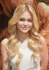 Nudes Of Olivia Holt - olivia holt at disneynature bears special screening in