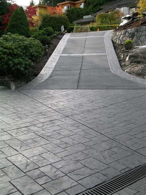 best 20 concrete driveways ideas on pinterest