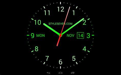 analog clock  wallpaper  android apps  google play