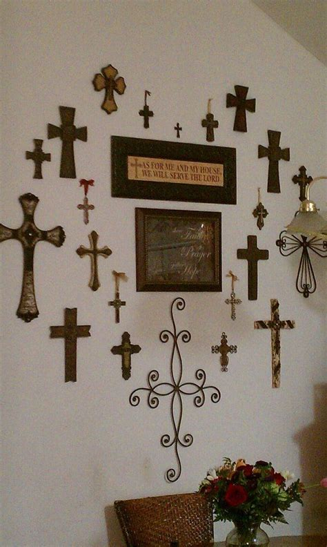 the cross home decor my heart cross wall for the home pinterest