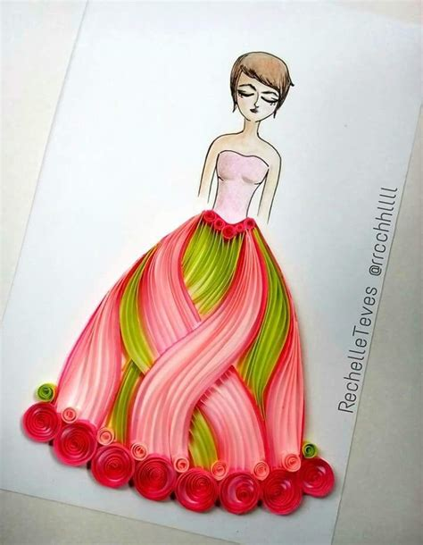 quilling girl tutorial 17 best images about lady on pinterest female characters