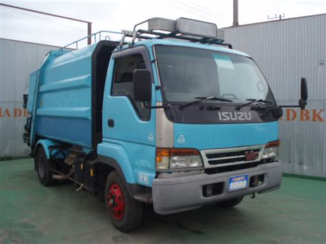 isuzu juston garbage truck n a used for sale