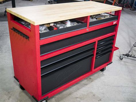 milwaukee   mobile work station review shop tool