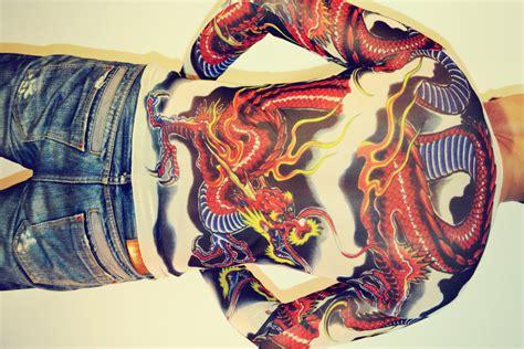 yakuza tattoo shirt tattoo t shirt japanese yakuza fly dragon t shirt long sleeved