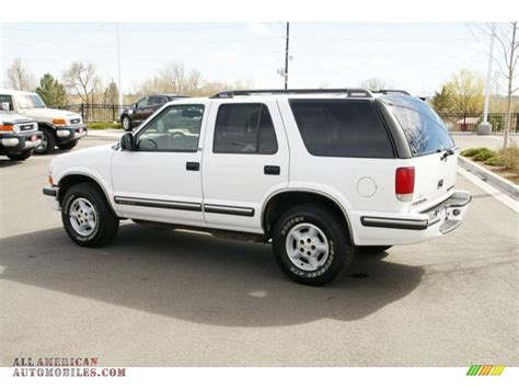 how make cars 1998 chevrolet blazer electronic valve timing 1998 chevrolet blazer ls 4x4 in summit white photo 4 159603 all american automobiles buy