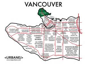 Vancouver Zip Code Map by The Real Map Of Vancouver