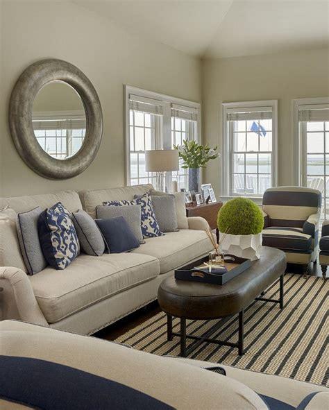 coastal livingroom coastal living room classic coastal living room with navy