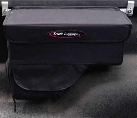 cargo bag for truck bed truxedo truck luggage saddlebag rail mounted storage box