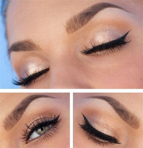 Eyeshadow Simple simple but makeup makeup wings winged eyeliner and homecoming