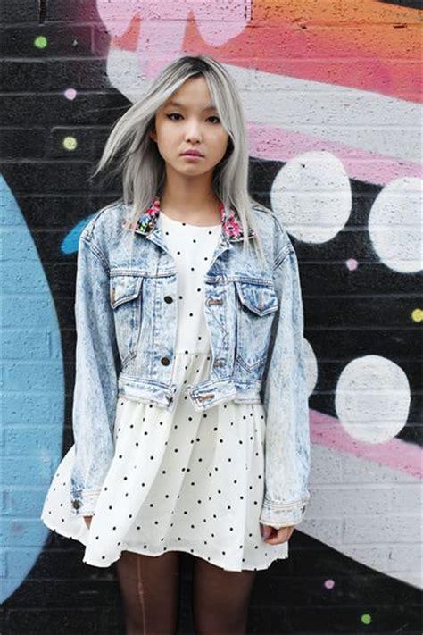 japanesse women with grey hair grey hair asian girl hair inspiration pinterest the