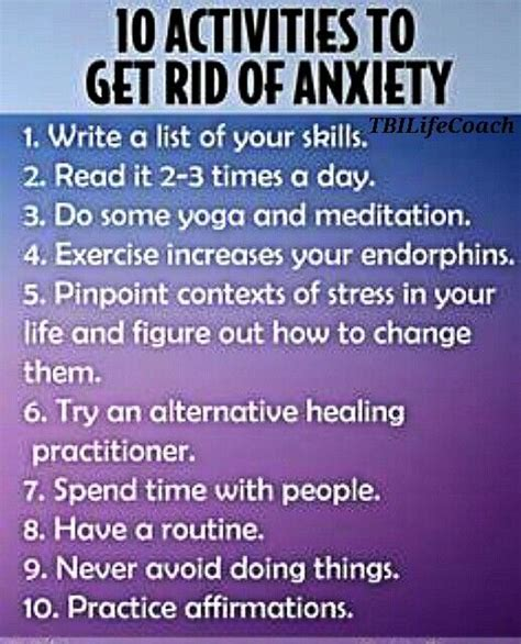 how to an anxious thank you tips to reduce anxiety i do not like how the infographic says quot get rid of
