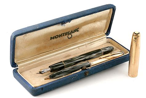 Montblanc Blanc Silver authentic mont blanc silver pen and t