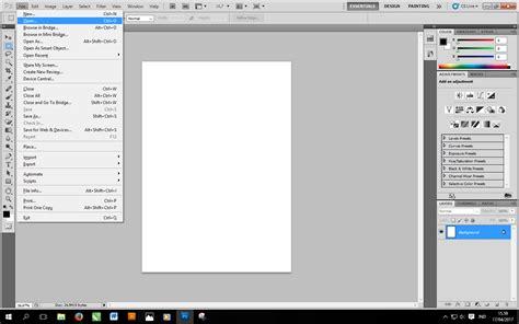 layout majalah dengan photoshop cara memasukkan gambar ke lembar kerja photoshop kelas