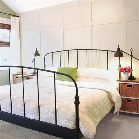 build your own bedroom faux paneled accent wall 27 ways to build your own