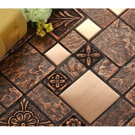 kitchen backsplash mosaic tile designs wholesale porcelain tiles square mosaic tile design metal