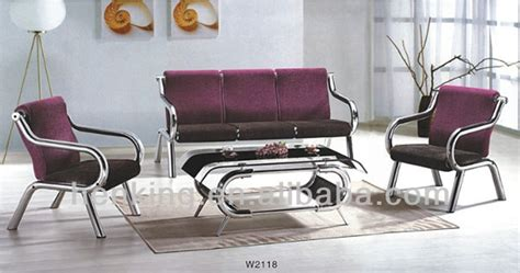 steel sofa set designs metal sofa set metal sofa set fk sf hs 8074 3 1 thesofa