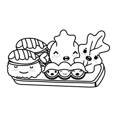 imagenes de frutas kawaii para colorear comida kawaii dibujos e imagenes de comidas kawaii para