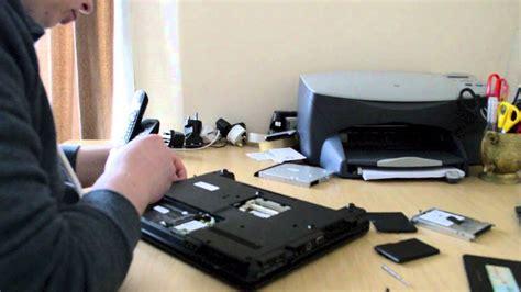 hp laptop fan not working hp 6735s fan dusting laptop disassembly take apart to