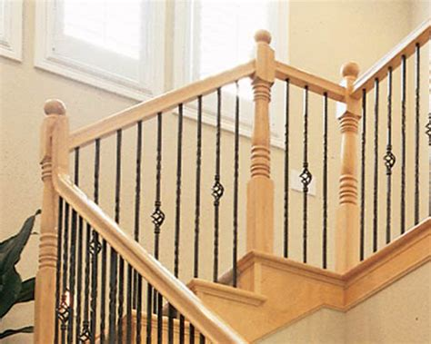 Wood Banisters And Railings by Stairway Banister Rail Designs Ideas Interior Design