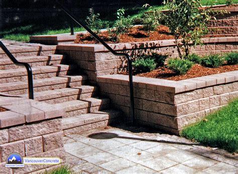 Retaining Wall Installation Allan Block Retaining Wall Installation Service Vancouver