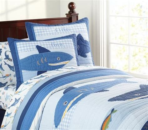 17 Best Images About Shark Room On Pinterest Pottery Shark Crib Bedding