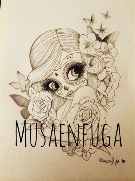 slaughter house tattoos mi dise 241 o de de catrina por musaenfuga www