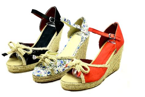 Wedges Sofiya Import 2 canvas peep toe wicker wedge sandals ebay