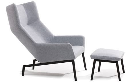 Lounge Chairs With Ottomans by Park Lounge Chair Ottoman Hivemodern