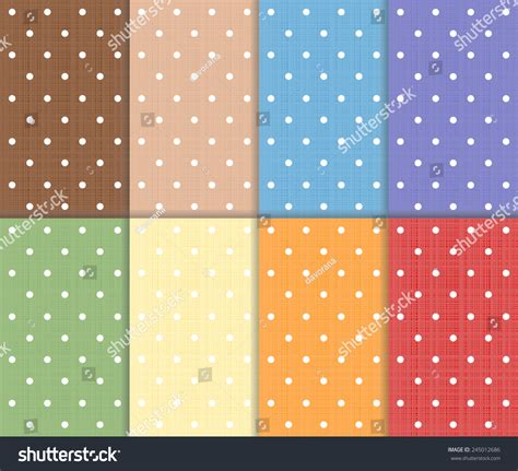 pattern green red brown red blue set of small polka dot seamless colorful pattern red