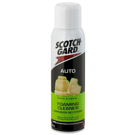 scotchgard car upholstery scotchgard auto fabric and carpet foaming cleaner