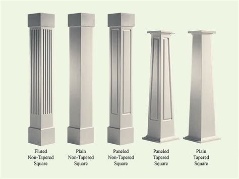 Wood And Style by Craftsman Porch Column Styles