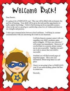 25 best ideas about parent welcome letters on