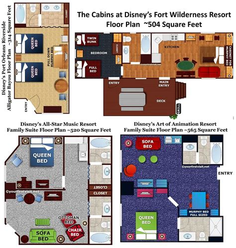 art of animation family suite floor plan asm family suites or art of animation the dis disney