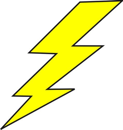 Lightning Bolt Animation Lightning Bolt Clip At Clker Vector Clip