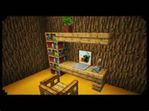 How Do You Make A Desk In Minecraft Minecraft How To Make A Home Office Youtube