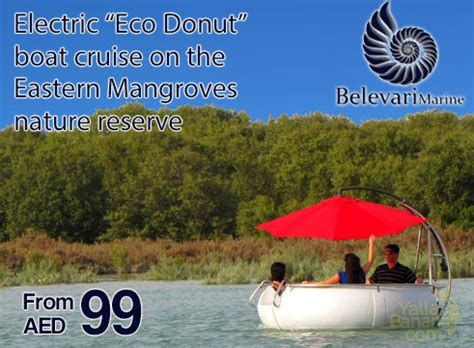 buy a boat abu dhabi yallabanana electric eco donut boat cruise on the