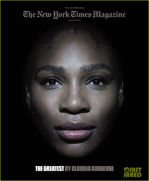 serena williams new york times serena williams when i m on the tennis court i m playing