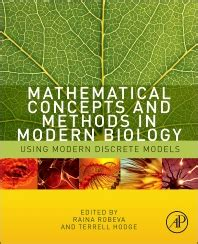 concepts of biology books mathematical concepts and methods in modern biology 1st