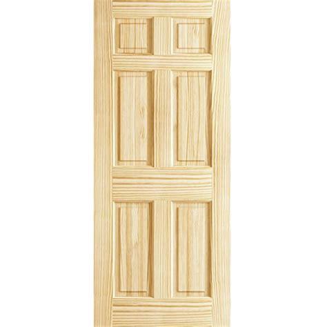 6 panel pine interior doors 6 panel door interior slab solid pine 36x80