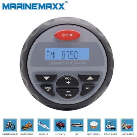Waterproof Marine Motorcycle MP3 FM AM Radio Guage Size