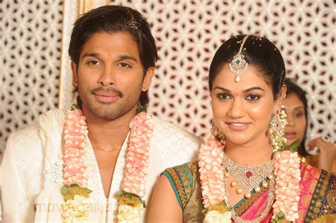 Wedding Pictures Wedding Photos: Allu Arjun Wedding Photos