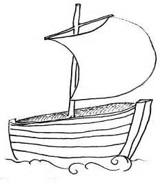 ship outlines boat outline clipart best