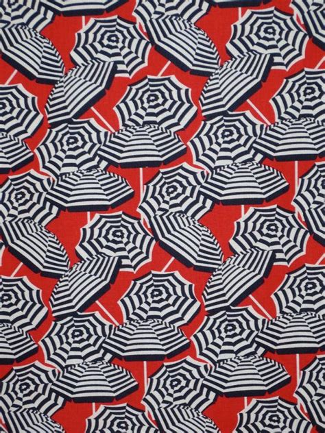 umbrella pattern fabric red black and white beach umbrella print by