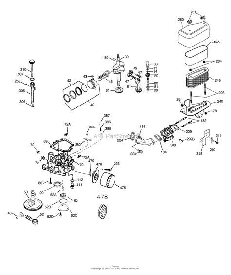 tecumseh ov358ea 206907f parts diagram for engine parts