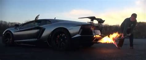 Lamborghini Of Chickens You Cook Chicken By Car Exhaust