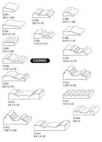 wood trim profiles wood moulding profiles